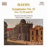 Pochette Symphonies, Volume 15: Symphonies nos. 72, 93 and 95