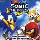 Pochette Sonic Heroes Official Soundtrack (OST)