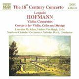 Pochette Violin Concertos / Concerto for Violin, Cello and Strings