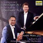 Pochette Tchaikovsky: Piano Concerto no. 1 / Saint-Saëns: Piano Concerto no. 2