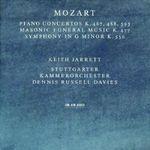 Pochette Piano Concertos K. 467, 488, 595 / Masonic Funeral Music K. 477 / Symphony in G. Minor K. 550