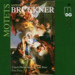Pochette Anton Bruckner: Motets (Czech Philharmonic Choir Of Brno/Petr Fiala)