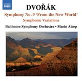 "Pochette Symphony no. 9 ""From the New World"" / Symphonic Variations"