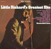 Pochette Little Richard's Greatest Hits Recorded Live (Live)