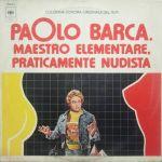 Pochette Paolo Barca, maestro elementare, praticamente nudista (OST)
