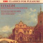 Pochette Five Violin Concertos