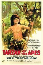 Affiche Tarzan chez les singes