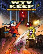 Jaquette Wyv and Keep: The Temple of The Lost Idol