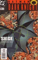 Couverture Batman : Siege