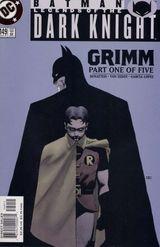 Couverture Batman : Grimm