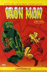 Couverture 1964-1966  - Iron Man : L'Intégrale, tome 2