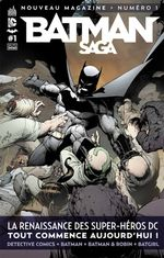 Couverture Batman Saga