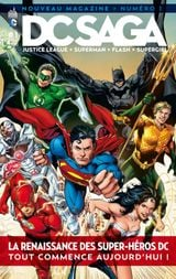 Couverture DC Saga