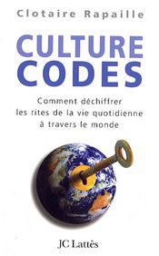 Couverture Culture codes