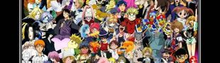 Illustration Top 25 anime (séries)