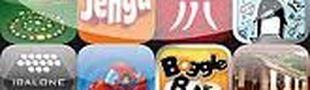 Illustration Du jeu de société dans un petit écran