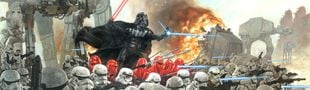 Illustration Star Wars en livre