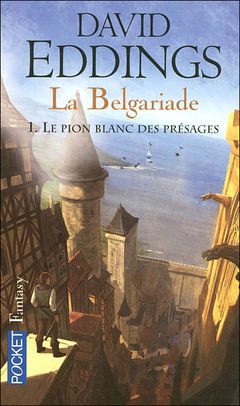 Couverture Le Pion blanc des présages - La Belgariade, tome 1