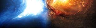 Illustration Bleu et orange : la norme current gen