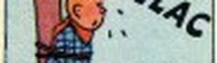 Illustration Le méchant explique toute l'ingéniosité  de son plan au gentil attaché qui a le temps de se détacher, l'assomme et va défaire le plan'