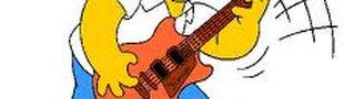Illustration Ce que j'aime dans cette chanson, c'est la partition de la guitare