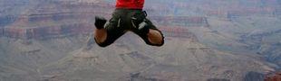 Illustration Comment ça j'ai oublié mon parachute ? Mais j'en ai pas besoin !
