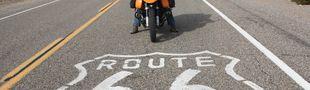 Illustration A écouter sur sa Harley Davidson pleine balle sur la Route 66