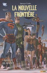 Couverture La Ligue de Justice - La Nouvelle Frontière, tome 3