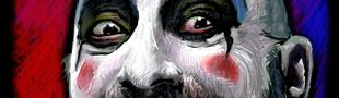 Illustration The Captain Spaulding's Bizarre Freaky Circus presents