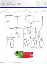 Jaquette Fish Listening To Radio