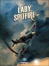 Couverture La fille de l'air - Lady Spitfire, tome 1