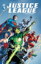 Couverture Aux Origines - Justice League, tome 1