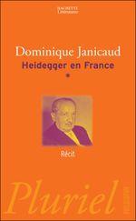 Couverture Heidegger en France