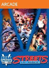 Jaquette Sega Vintage Collection: Streets of Rage
