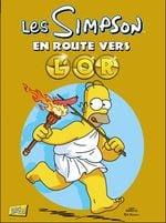 Couverture Les Simpson : En Route Vers L'or
