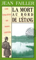 Couverture La mort au bord de l'étang - Mary Lester, tome 3