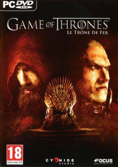 Jaquette Game of Thrones : Le Trône de Fer