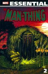 Couverture Essential : Man-Thing, tome 2