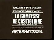 Affiche La Comtesse de Castiglione