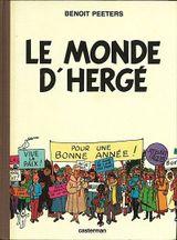 Couverture Le monde d'Hergé