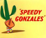 Affiche Speedy Gonzales