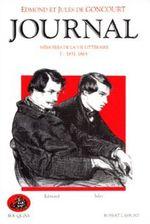 Couverture Journal des Goncourt