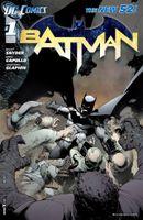 Couverture Batman (2011 - 2016)