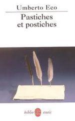 Couverture Pastiches et postiches