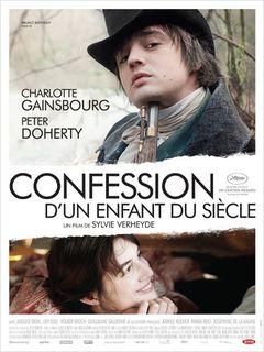 Affiche Confession d'un enfant du siècle