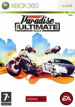 Jaquette Burnout Paradise : The Ultimate Box