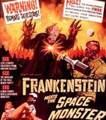 Affiche Frankenstein Meets the Spacemonster