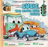 Affiche Susie Le Petit Coupé Bleu