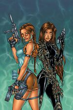 Couverture Witchblade / Tomb Raider
