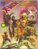 Couverture Au Royaume de Ka-Zar - Les Étranges X-Men, tome 4